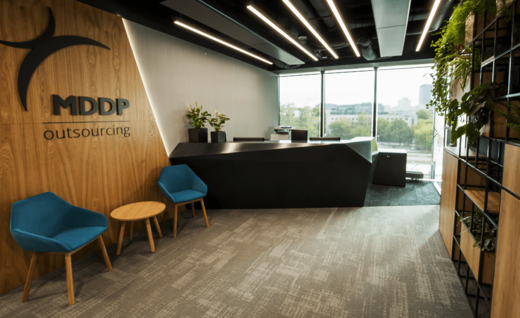 Business services of MDDP Outsourcing office